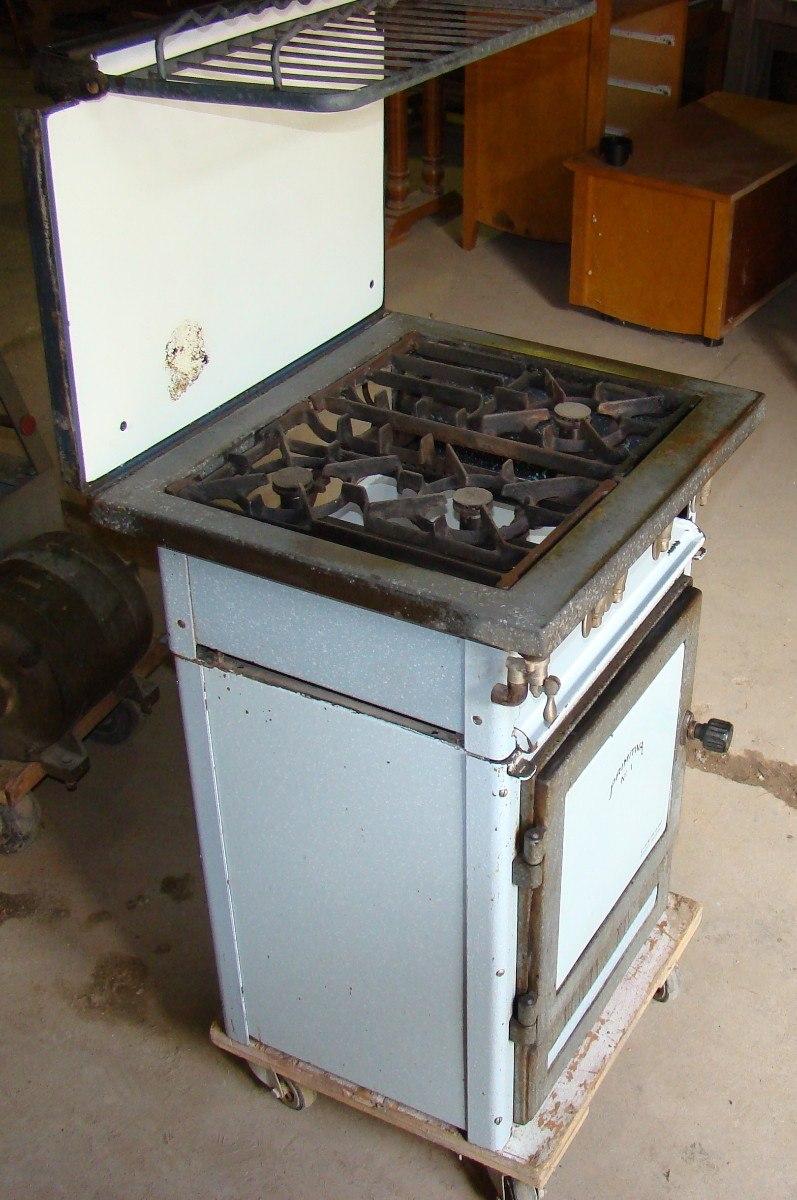 Cocina Antigua A Gas Enlozada   440000 en Mercado Libre