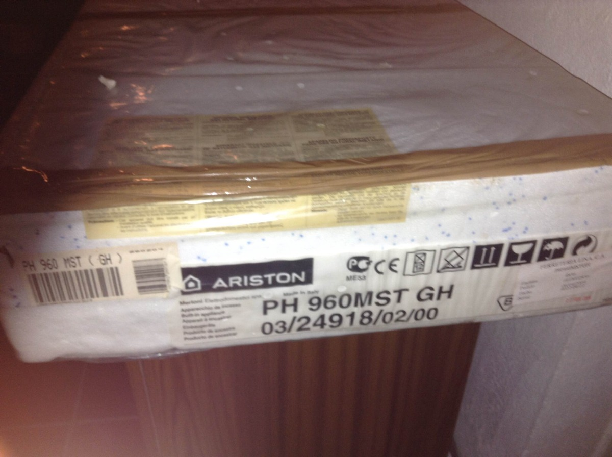 Cocina Ariston 90cm Tipo Tope Gaselectric  Bs 2400 en