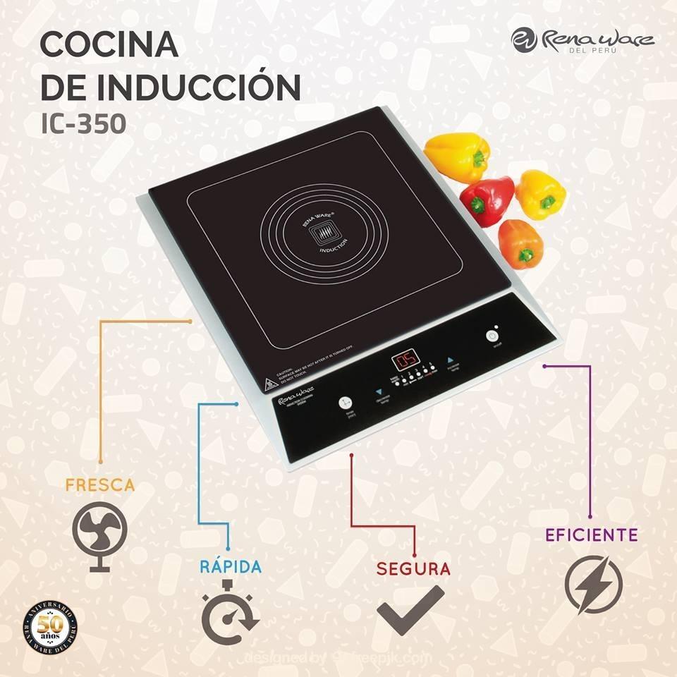 Cocina De Induccin De Rena Ware  Precio De Oferta  S 1