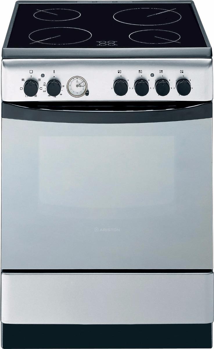 Cocina Elctrica Ariston A6v530 4 H Vitrocermica Envo Ya