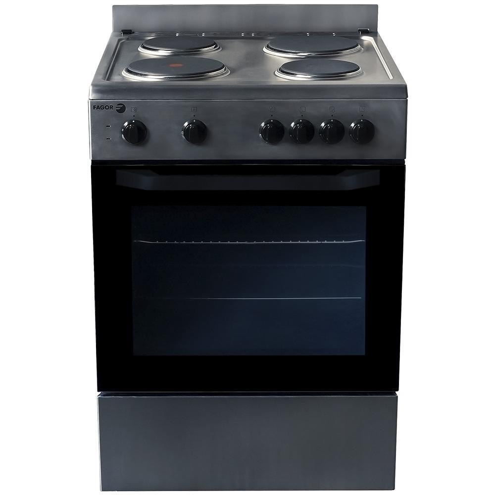 Cocina Fagor 60 Cm Ecfa60ai Elctrica Acero   986900