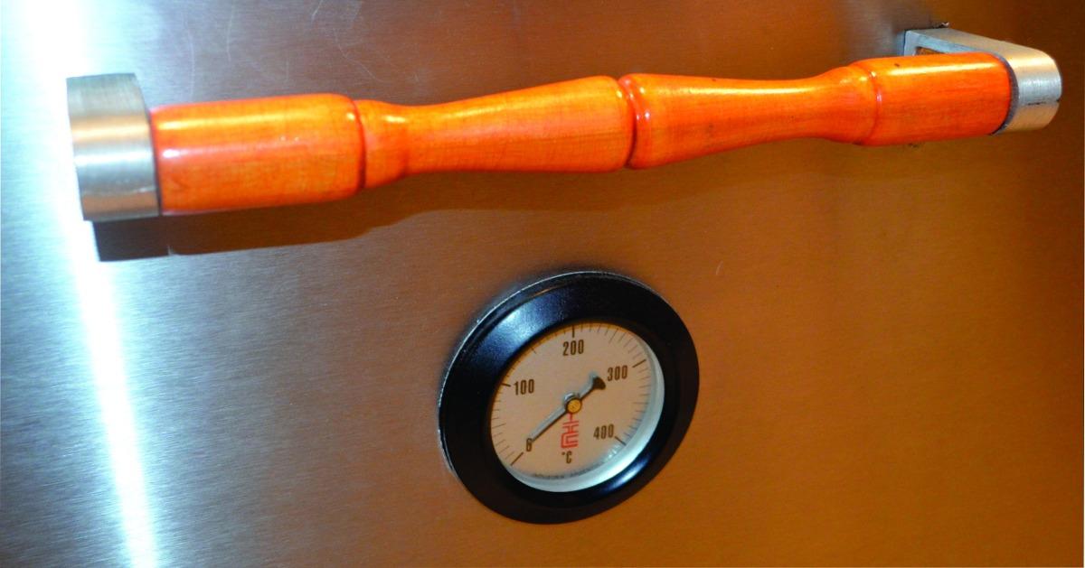 Cocina Industrial Familiar Tecnocalor 4 Hornallas Acero Inox   1359900 en Mercado Libre