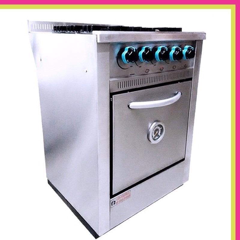 Cocina Industrial Fornax 4 Hornallas 60 Cm Rejilla