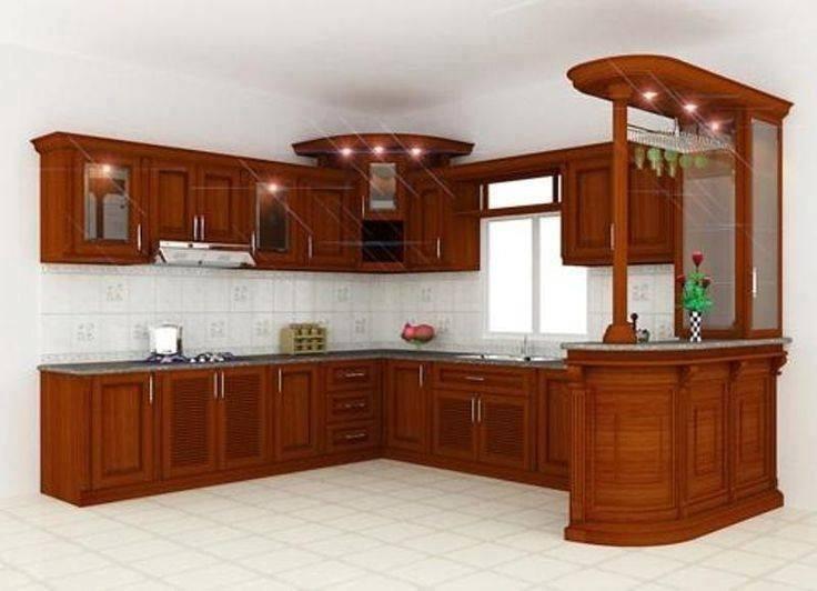 Cocina Integral Madera Escuadra Diseo Residencial A