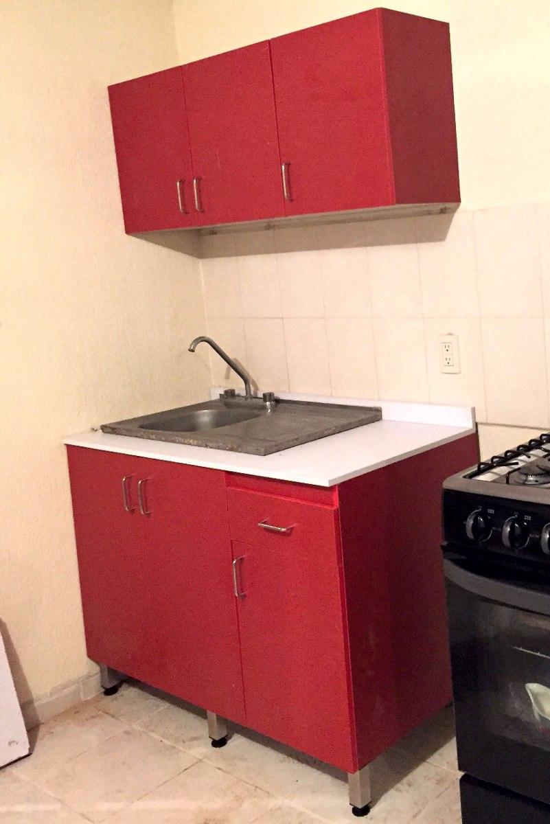 Cocina Integral Melamina Mueble Inferior Y Superior Colores   498999 en Mercado Libre