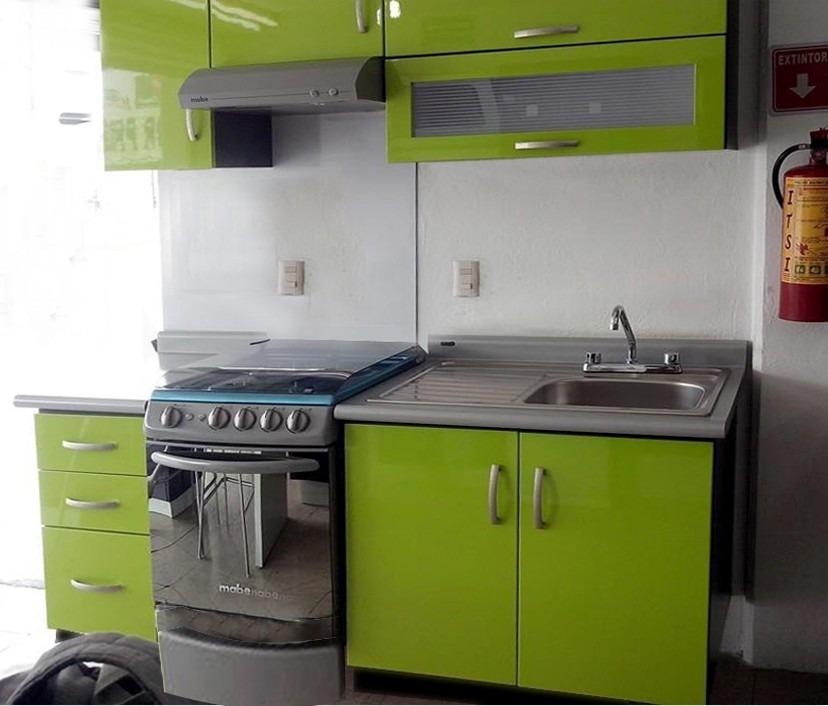 Cocina Integral Minimalista Mod Angola Para Estufa 210m