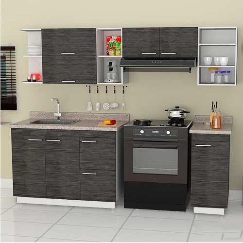Cocina Integral Minimalista Mod Valence Para Estufa 240m