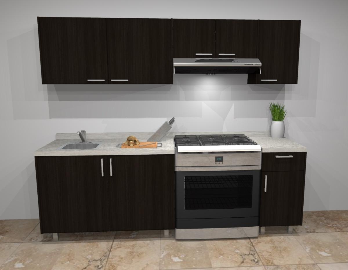 Cocina Integral Moderna Nueva De Melamina Con Cubierta 2