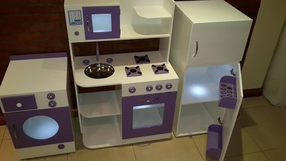 Cocinita Infantil De Juguete En Madera Casita Cocina