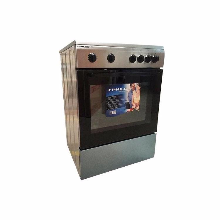 Cocina Philco Electrica 60cm Ecph121 Acero Inox Brukman
