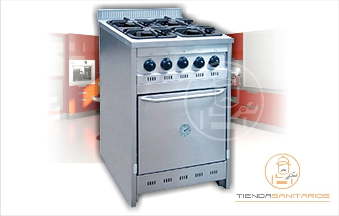 Cocina Semi Industrial Corbelli Cf60 Acero Inox Y