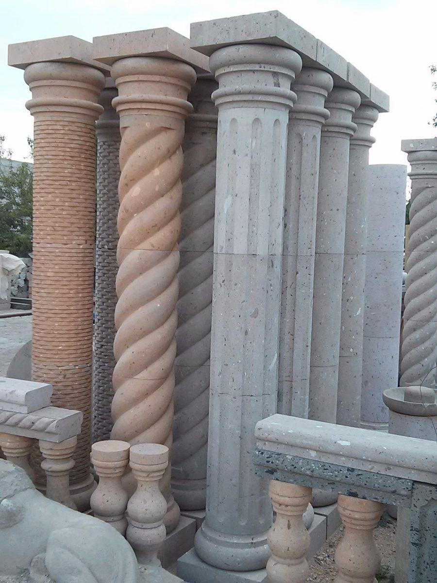 Columnas De Cantera De 240 Mts Altura Y 30 Cm Diametro