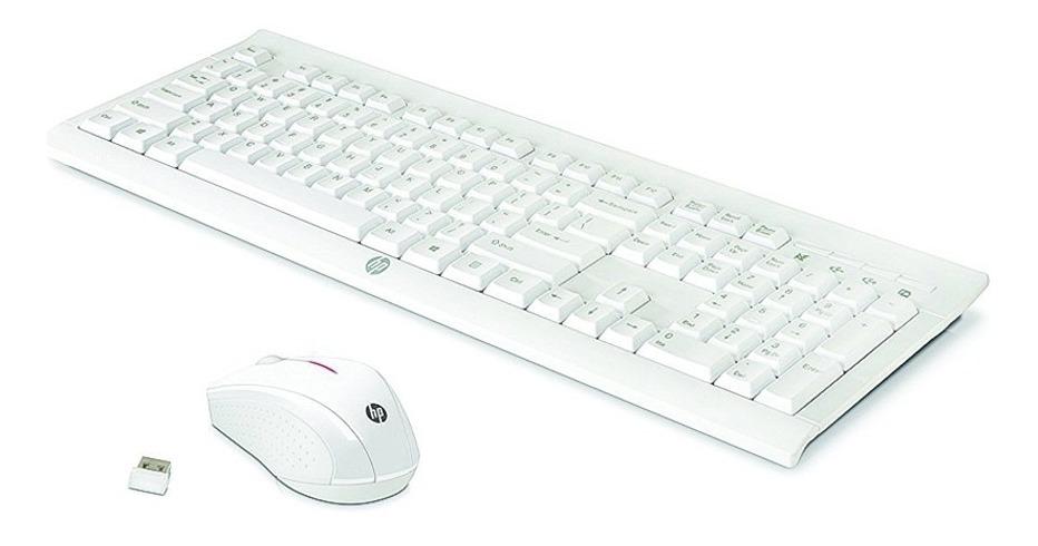 Combo Inalámbrico Teclado + Mouse, Hp Wireless Desktop