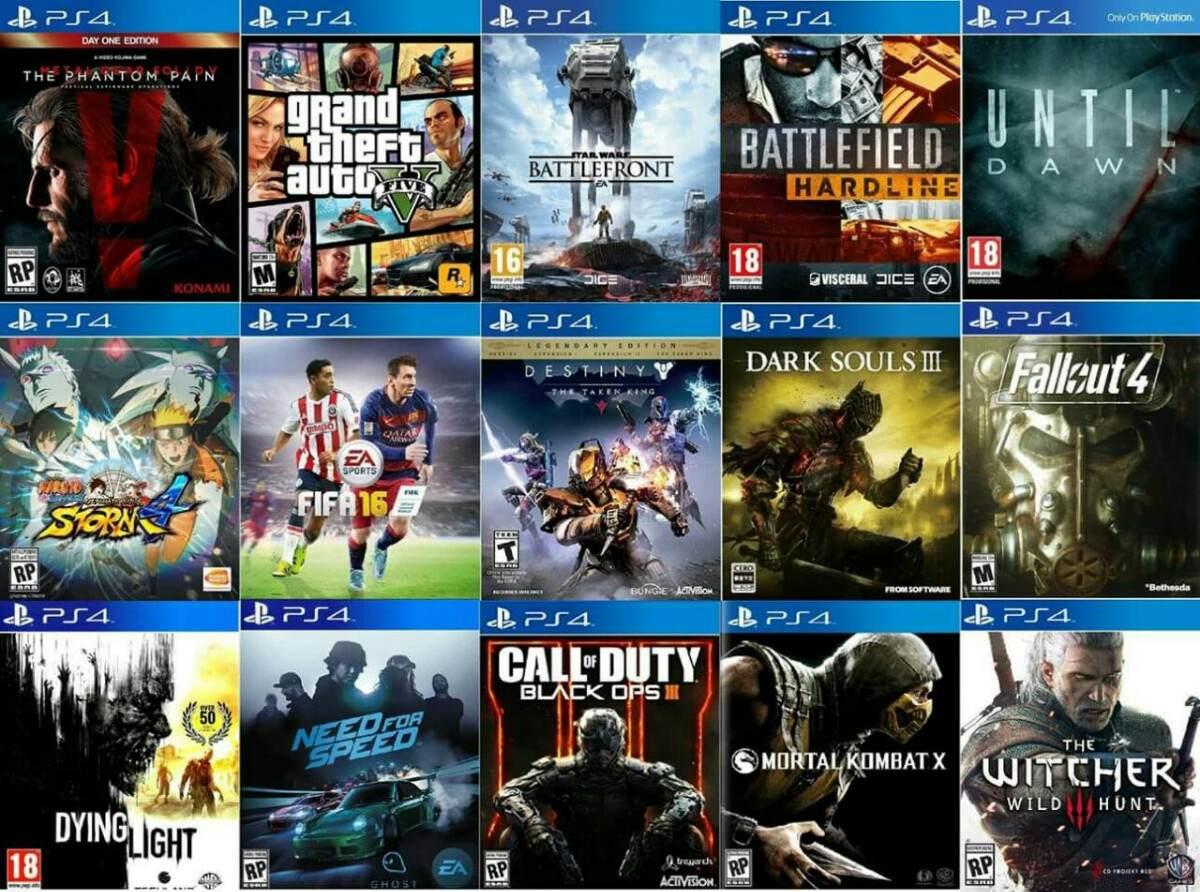 Combo Juegos Digitales Ps4  Llevate Dos Juegos A Eleccion