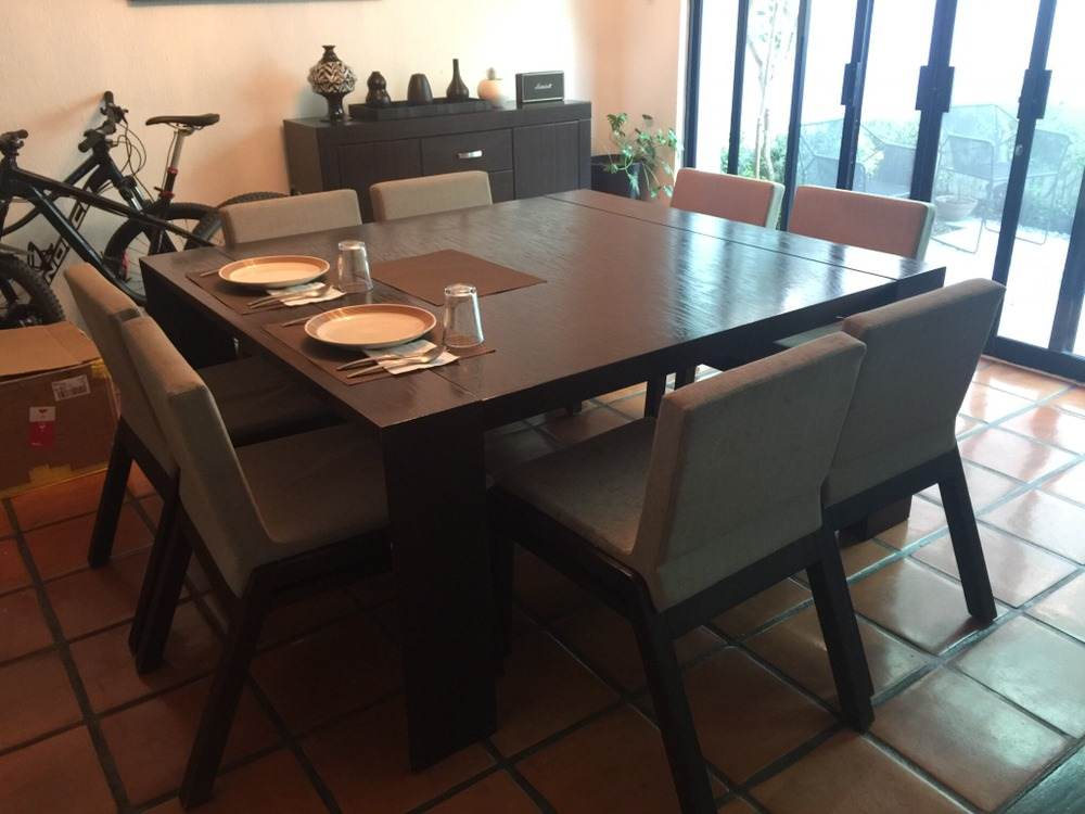 Comedor Para 8 Personas De Madera   2300000 en Mercado