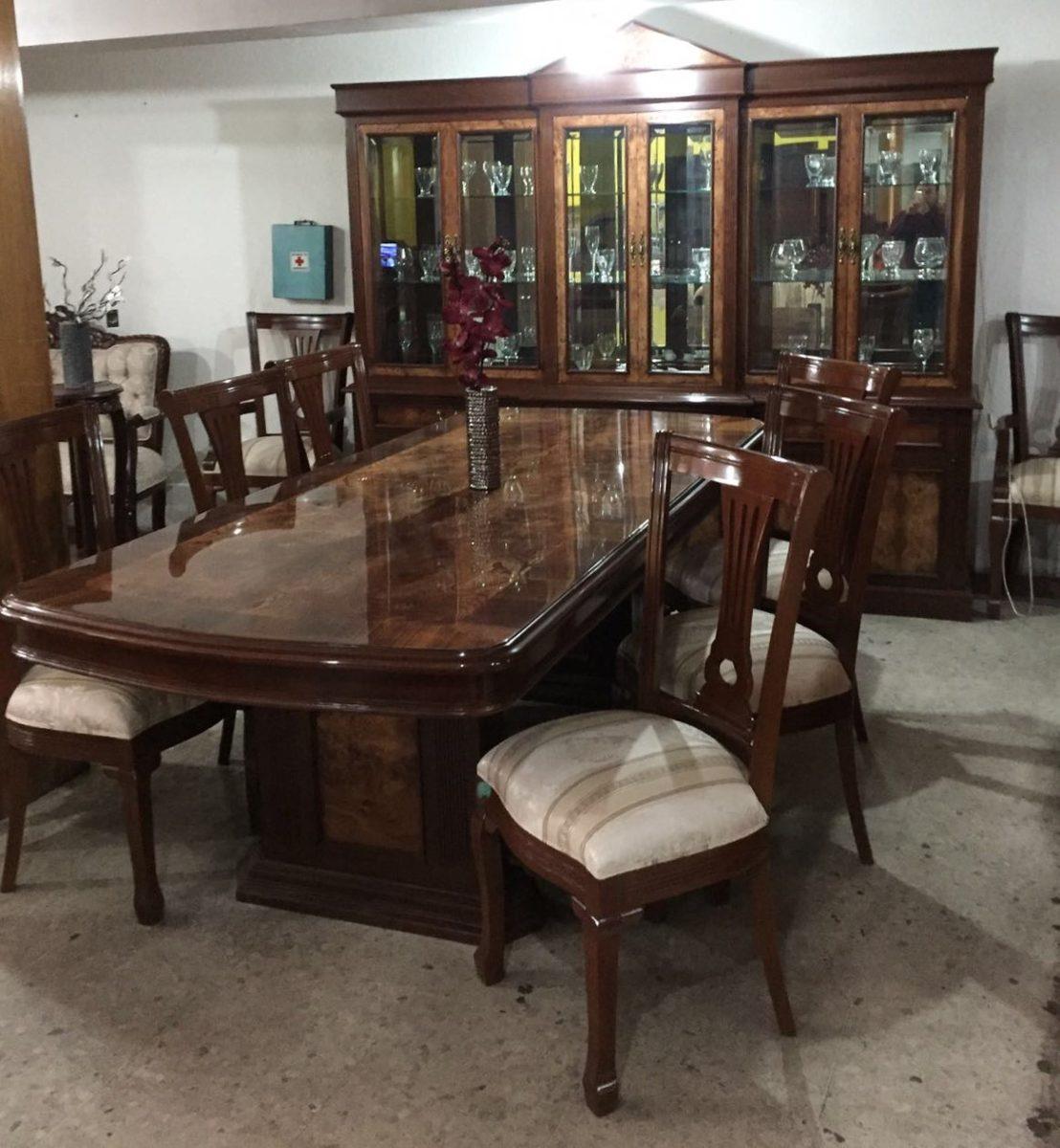 Comedor Provenzal Modernista Modelo Ingls En Madera Fina   8300000 en Mercado Libre