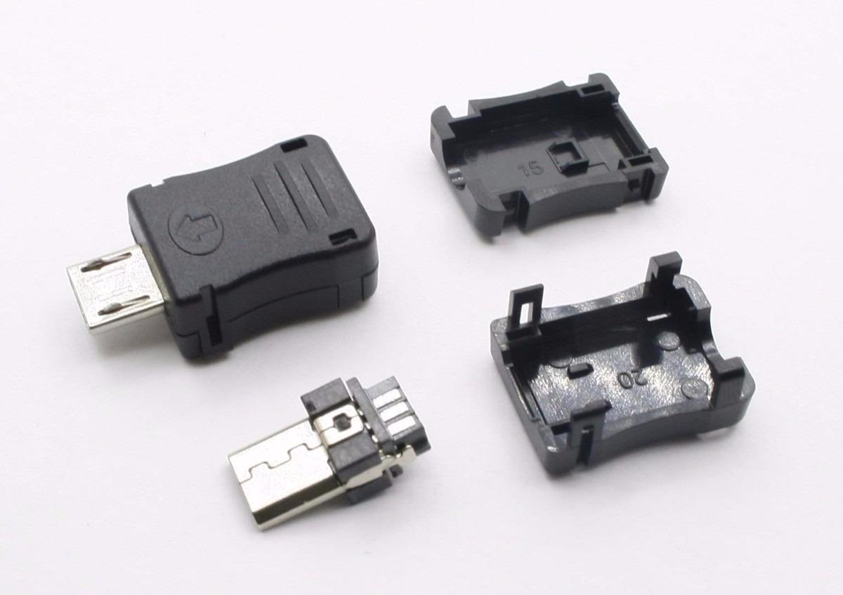 Samsung Usb Cable Wiring Diagram Conector Plug Micro Usb Macho De 5p Celular E Tablet R