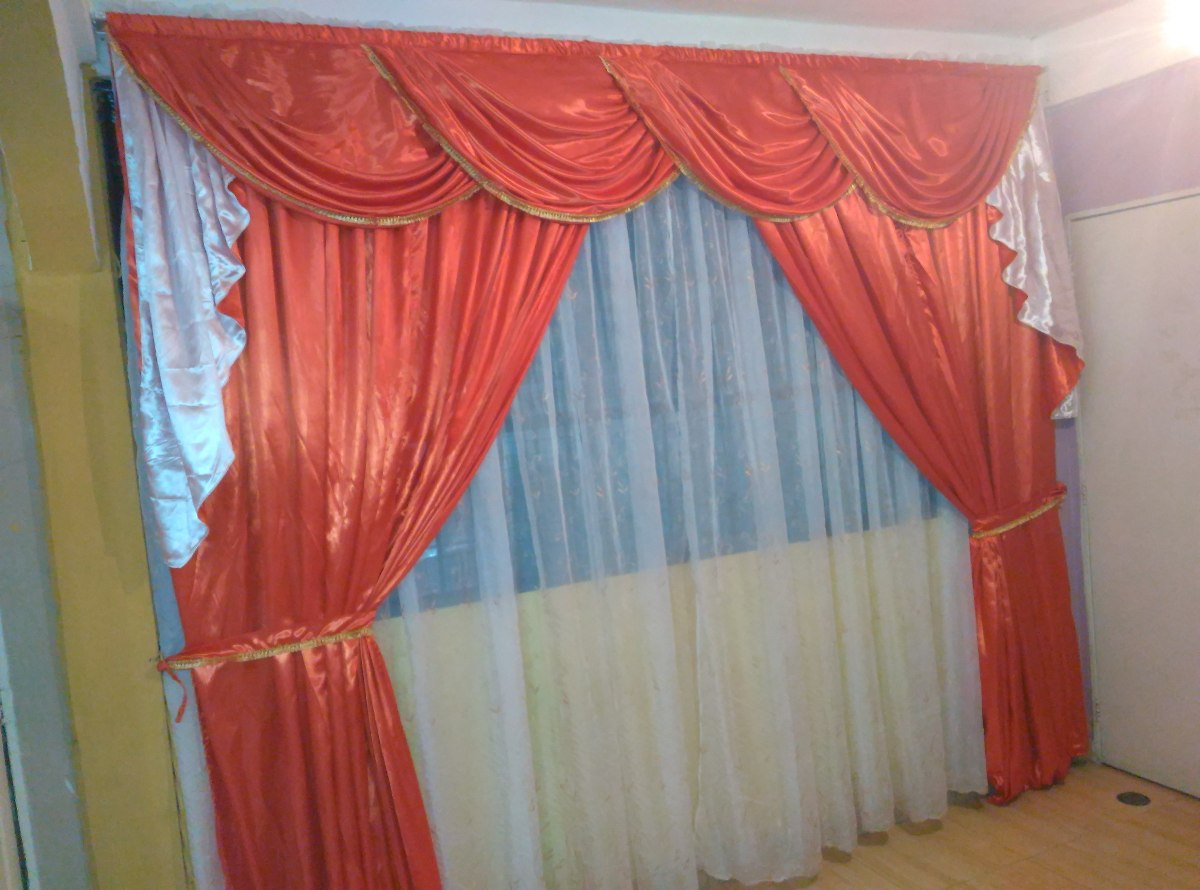 Confeccion De Cortinas Y Cenefas  Bs 1500000 en