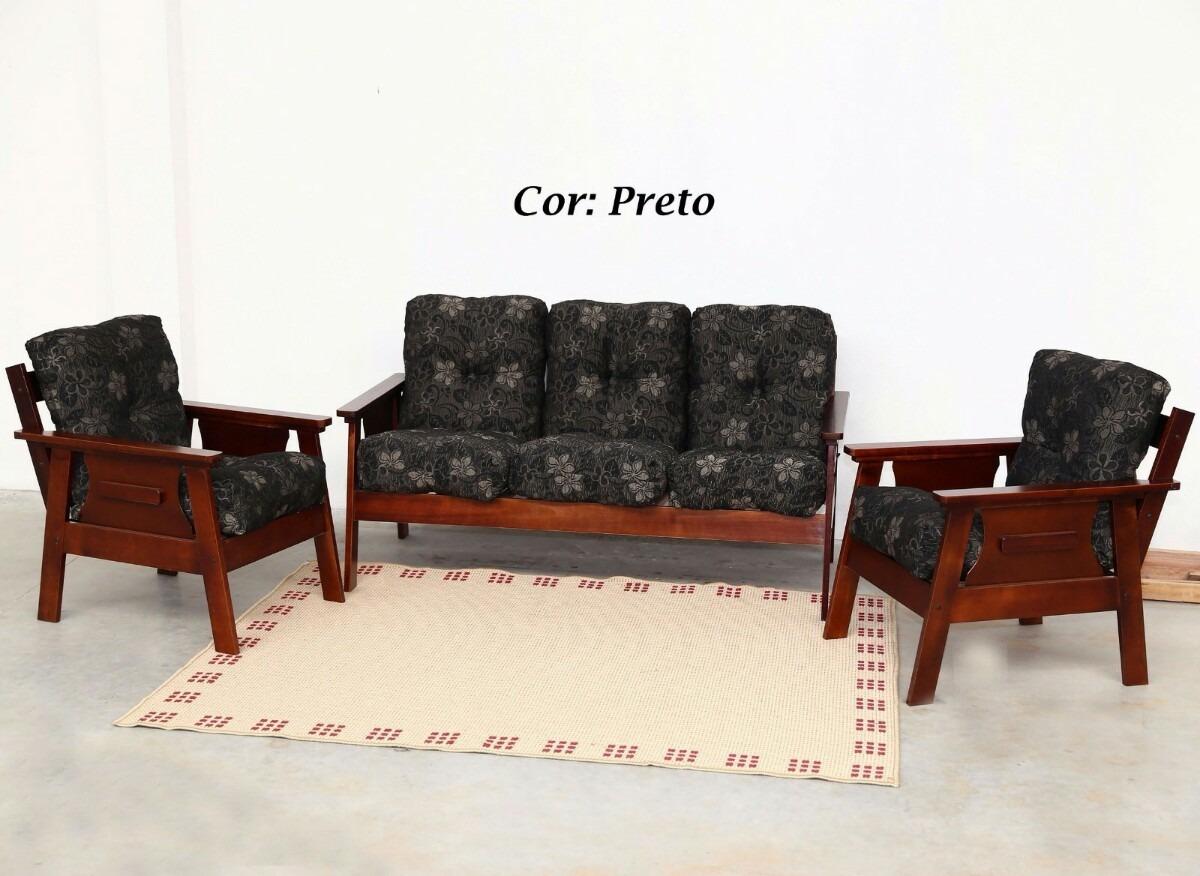 sofa usado no mercado livre fabrics types conjunto de sofá em madeira r 20 000 00