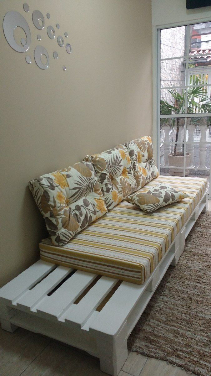 Sofa De Palet Para Sala Pequena