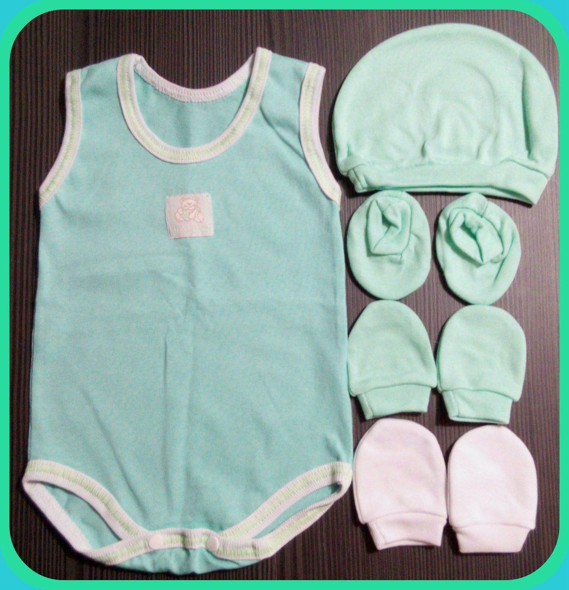 Conjunto Pijamas Para Bebes 5 Piezas Para Recien Nacidos