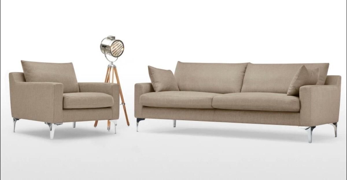 Conjunto Sof 3 Lugares  Poltrona Se Design  R 2500