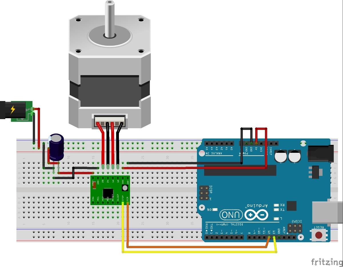 4 Wire Stepper Motor Diagram
