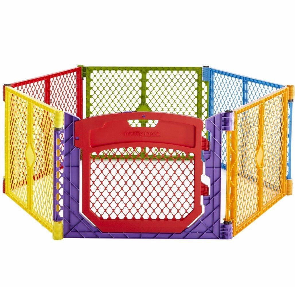 Corral De Seguridad Para Bebe De Colores Plegable Portatil   499900 en Mercado Libre