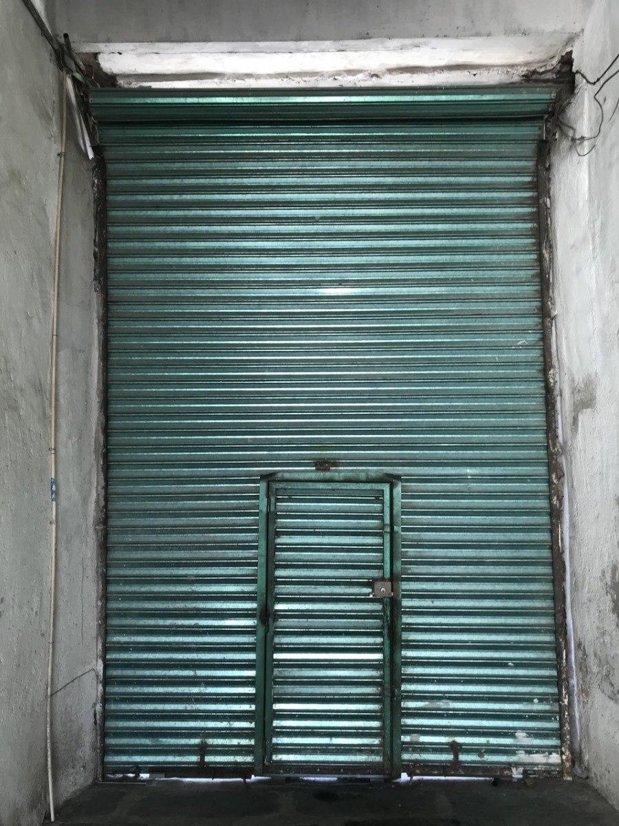 Cortina De Acero Para Local Comercial Con Puerta   3500