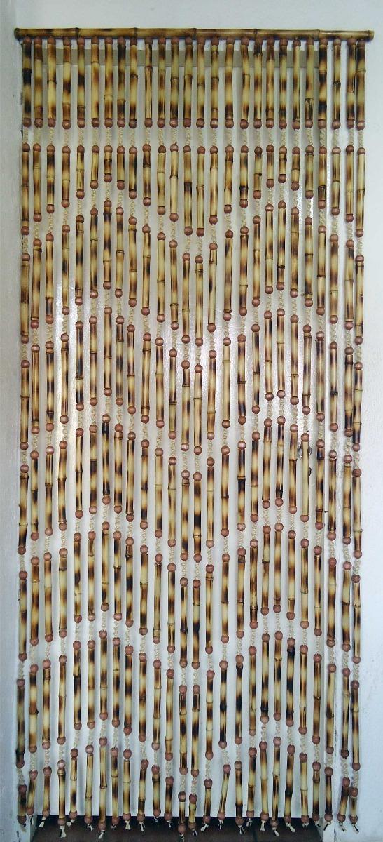 Cortina De Bambu Tratado Para Porta  R 22500 em Mercado