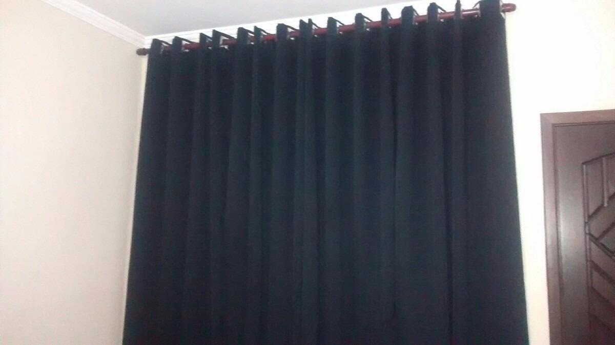 Cortina De Blackout Tecido E Voil Liso 6m X 260 M Corta Luz  R 71000 em Mercado Livre