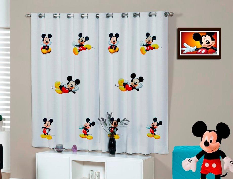 Cortina Infantil Mickey