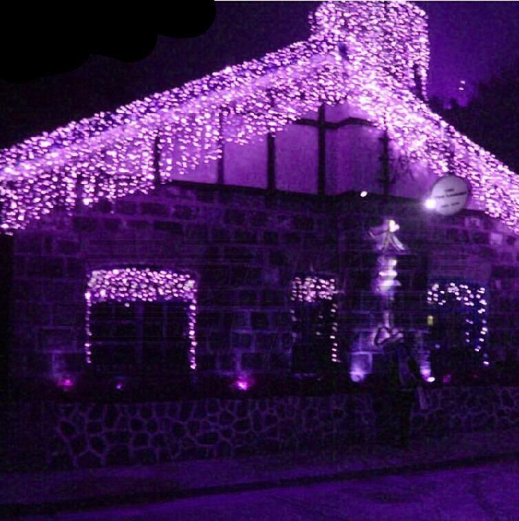 Cortina Luces Led Navidad 200 Bombillos 6 Metros Por 045