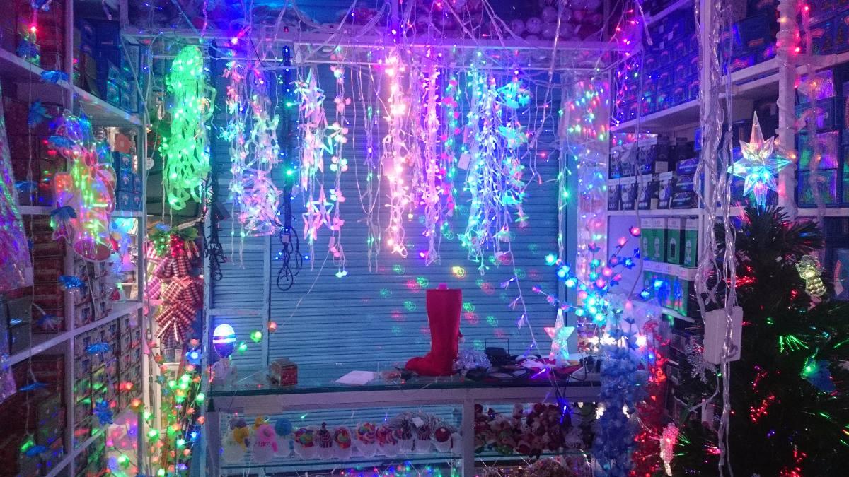 Cortina Luces Led Navidad 360 Bombillos 10 Metros Por 080