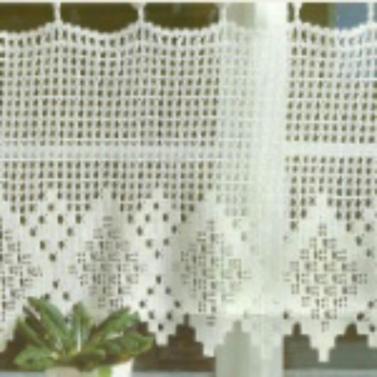 Cortina O Cenefa A Crochet A Pedido   25000 en Mercado
