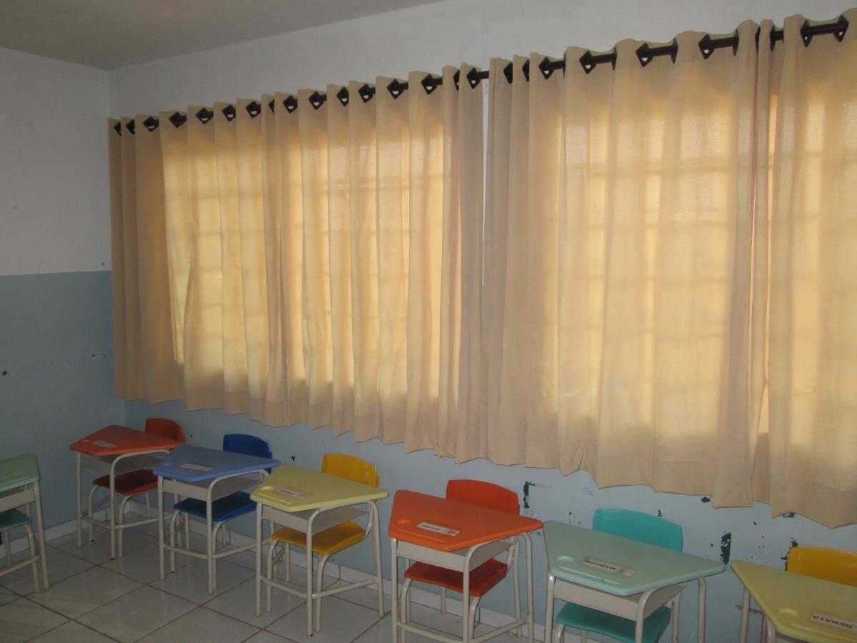 Cortinas Escolas E Sala De Aula  R 19000 em Mercado Livre