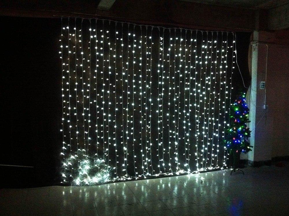 Cortinas Led De 320 Luces Para Navidad Eventos