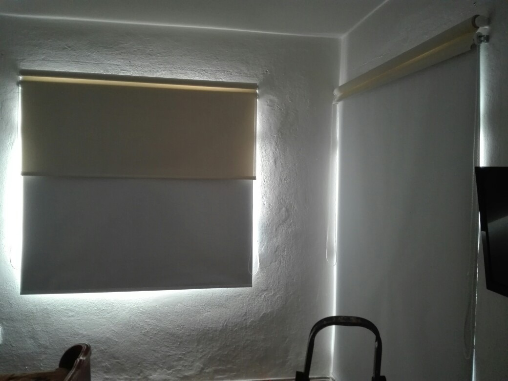 Cortinas Roller Black Out A Medida instalamos   1140