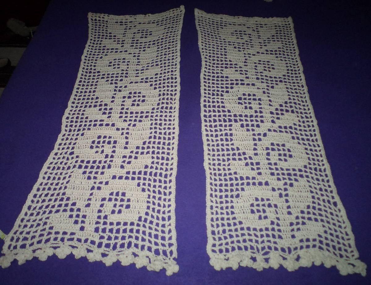 Cortinas Tejidas Al Crochet   165000 en Mercado Libre