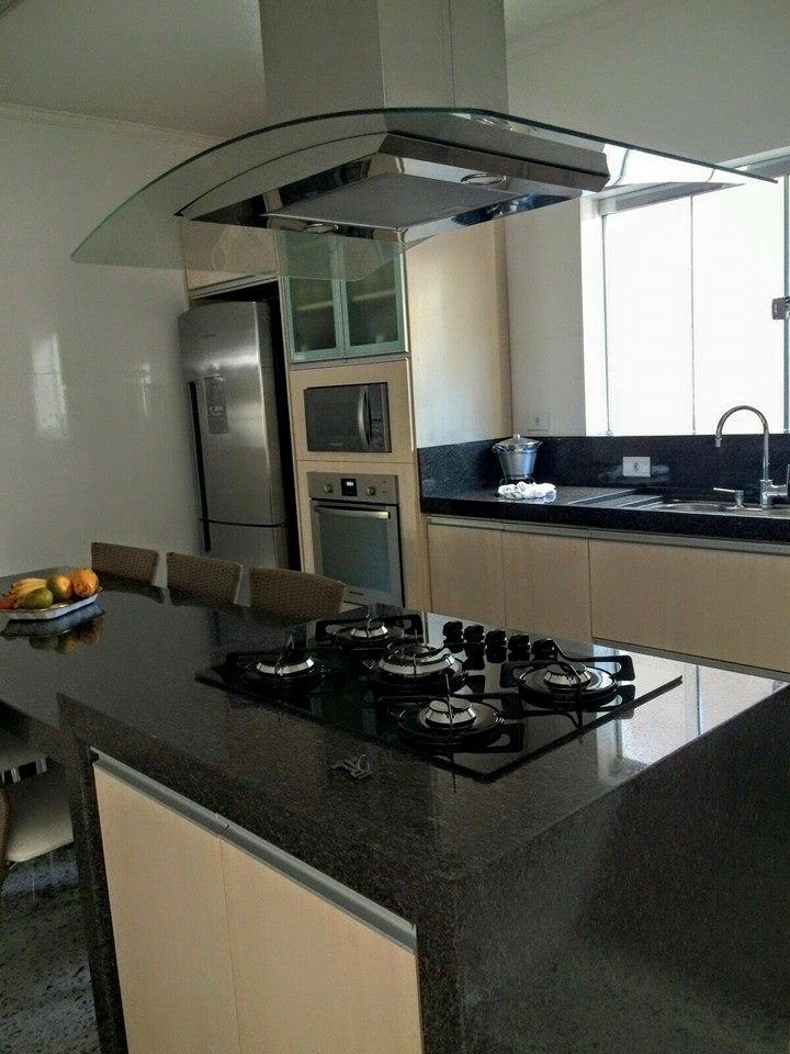 Cozinha Mesa Ilha Em Mrmore Granito Silestone Nanoglass