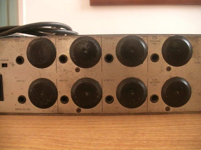 Crossover Furman X524 Profissional Para Som Pa Stereo  R 120000 em Mercado Livre