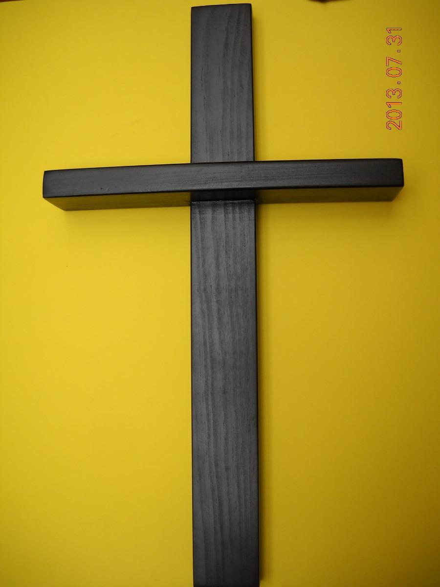 Cruz Crucifijo Cruz De Madera   54900 en Mercado Libre