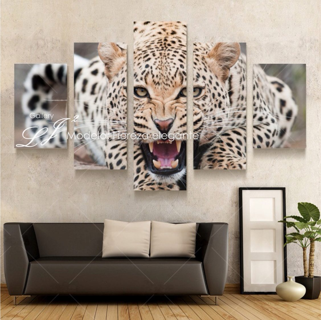 Cuadros De Tigre Animales Salvajes Felinos  Decoracin