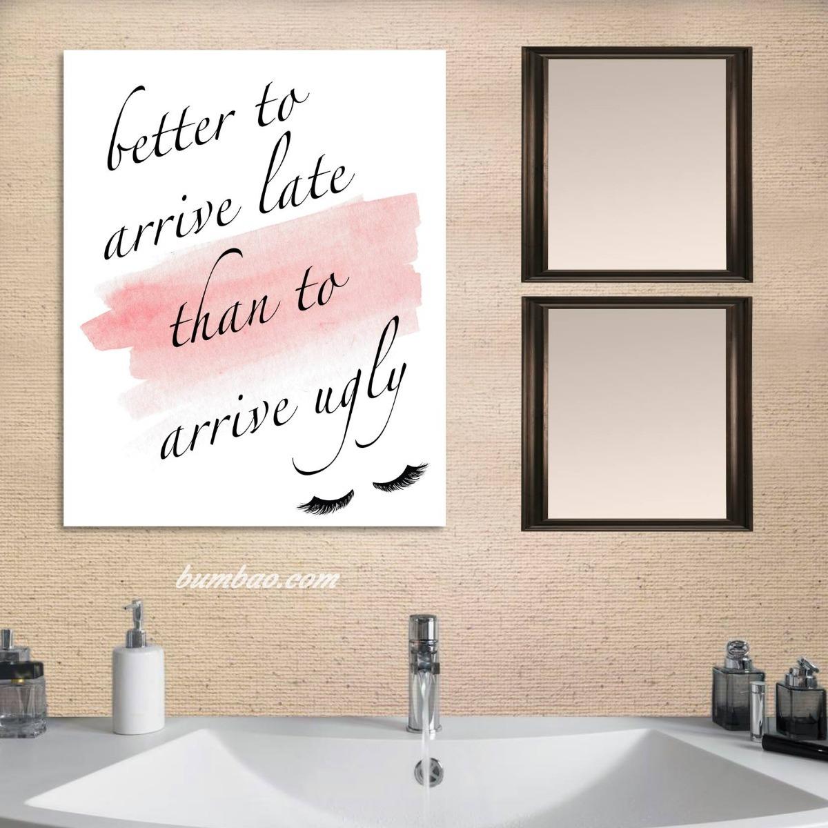 Cuadros Decorativos Para Bao  Frases Motivacionales