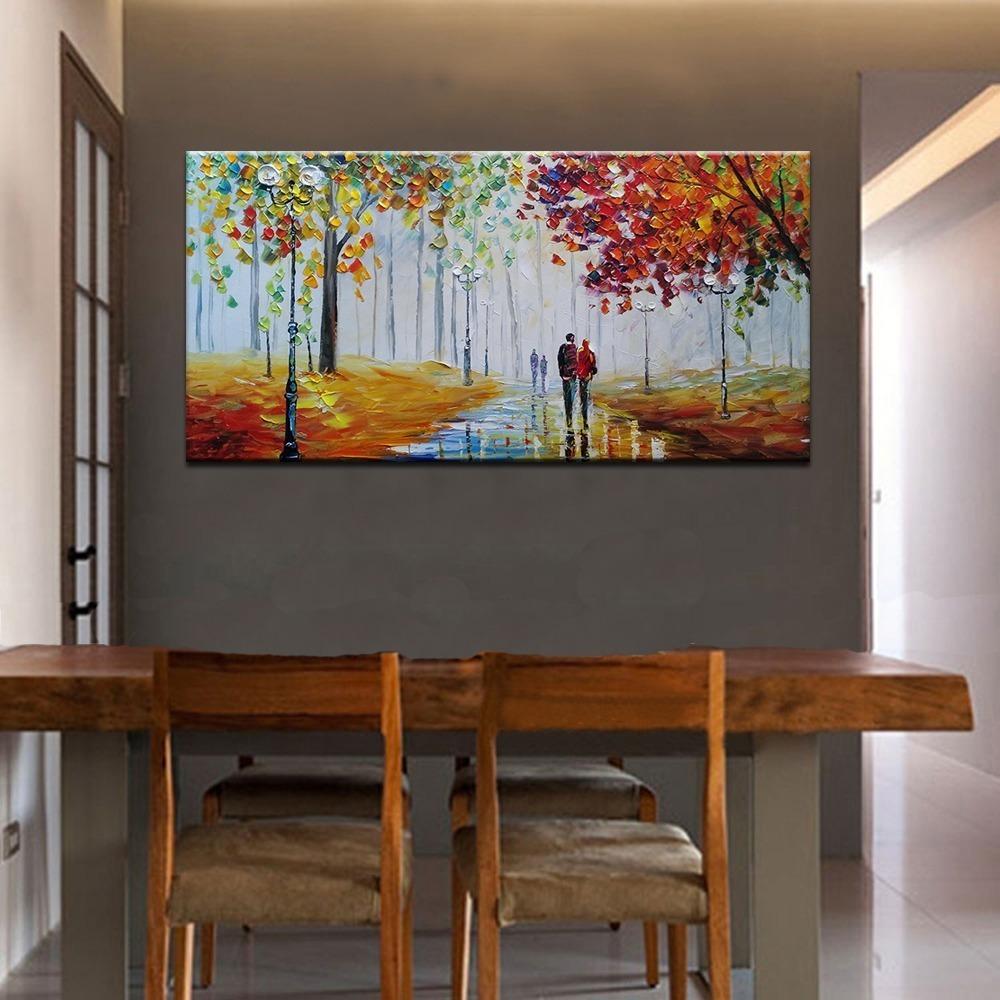 Pinturas Abstractas Para Comedor | Cómo Decorar Con Cuadros ...
