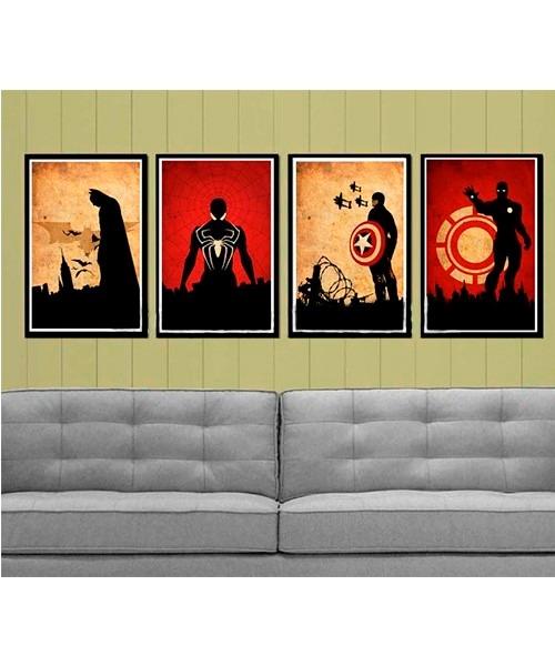 sofa cama mercado libre venezuela repairs in chennai cuadros modernos de superheroes - bs. 35.000,00 en ...