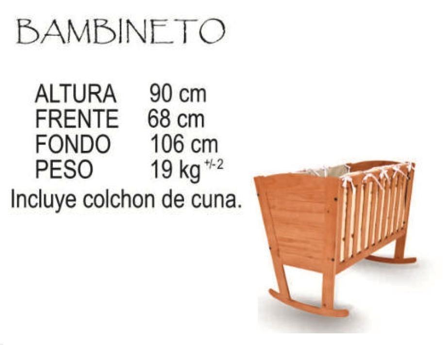 Cuna Bambineto Marca Tete   200000 en Mercado Libre