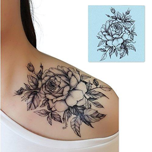 Dalin 4 Hojas Sexy Tatuajes Temporales Para Hombres Mujeres