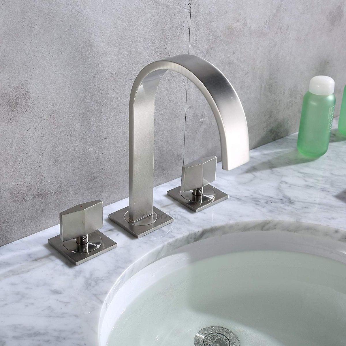Decor Star Wpc05 Tb Contemporary Bathroom Vanity Sink Widesp 6 107 90 En Mercado Libre