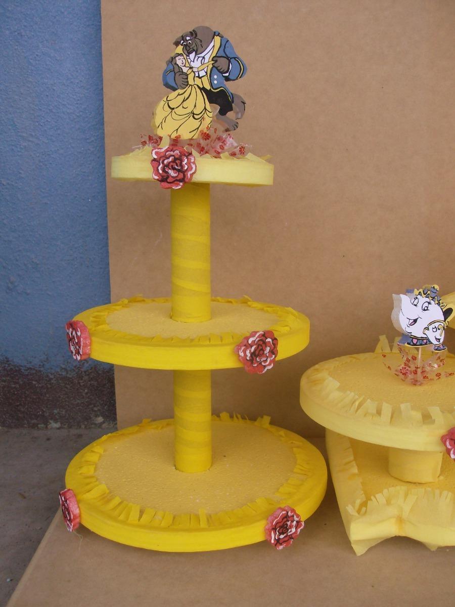 Decoracion Fiesta Infantil De La Bella Y La Bestia En